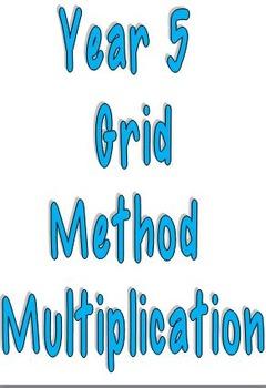 Year 5 Grid Method Multiplication