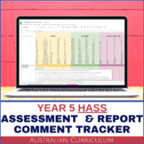 Year 5 HASS Digital Grade Book and Report Comment System