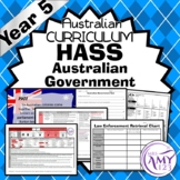 Year 5 HASS Unit- Australian Government - Civics & Citizenship