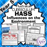 Year 5 HASS Unit- Influences of the Environment- Geography