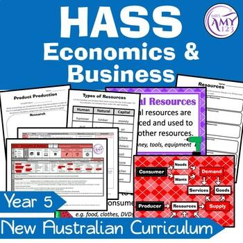 Year 5 HASS Unit- Needs & Wants - Economics, Geography & Civics & Citizenship