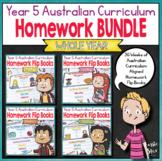 Year 5 Homework Flip Books For an Entire Year! - Australia