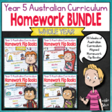 Year 5 Homework Flip Books For a Whole Year! - Australian