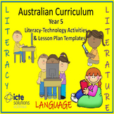 Year 5 Literacy with ICT Lesson Plans Teaching Resource