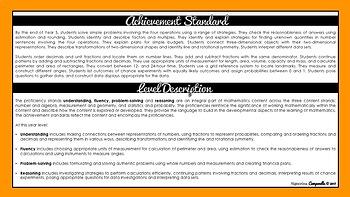 Year 5 Mathematics   Australian Curriculum Checklist