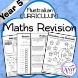 Year 5 Maths Revision - Australian Curriculum Aligned