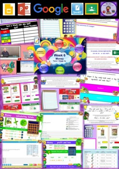 Year 5 Money Smart Notebook and Unit of Work Bundle 1