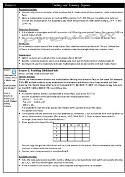 Year 5 Multiplication and Division Smart Notebook and Unit of Work Bundle 1