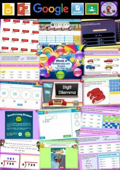 Year 5 Multiplication and Division Smart Notebook and Unit of Work Bundle 4