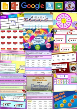 Year 5 Multiplication and Division Smart Notebook and Unit of Work Bundle 5