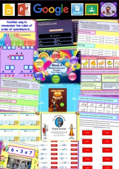 Year 5 Multiplication and Division Smart Notebook and Unit of Work Bundle 6
