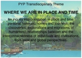 Year 5  PYP Transdisciplinary Themes Posters
