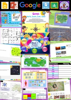 Year 5 Position Smart Notebook and Unit of Work Bundle 1