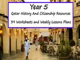 Year 5 Qatar History Worksheets