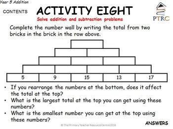 Year 5 SATs Reasoning Pack 1 - Mastering Maths