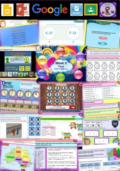 Year 5 Time Smart Notebook and Unit of Work Bundle 1