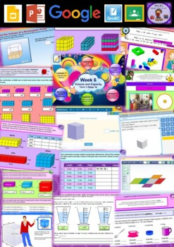 Year 5 Volume and Capacity Smart Notebook and Unit of Work Bundle 1