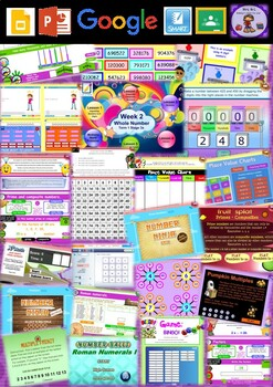 Year 5 Whole Number Smart Notebook and Unit of Work Bundle 1