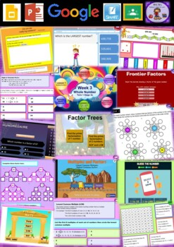Year 5 Whole Number Smart Notebook and Unit of Work Bundle 2