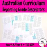 Year 5 and Year 6 Australian Curriculum Reporting Grade De