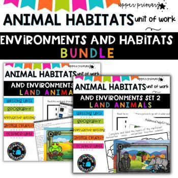 Animals unit bundle Grade 5 and 6