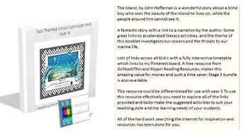 Year 5, Year 6 - Sea Themed Cross Curricular Unit (Bundle)