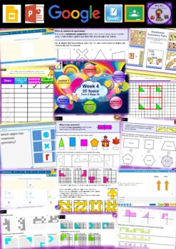Year 6 2D Space Smart Notebook and Unit of Work Bundle 2