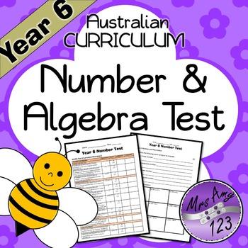 Year 6 ACARA Number Maths Test