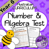 Year 6 ACARA Number Maths Test