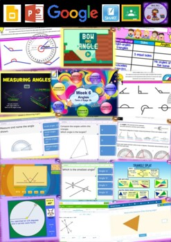 Year 6 Angles Smart Notebook and Unit of Work Bundle 1