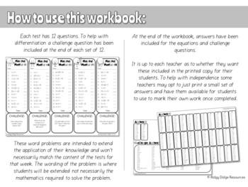 Year 6 Australian Curriculum Aligned Mental Maths Digital Workbook - FREE TRIAL