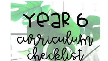 Year 6 Australian Curriculum Checklists HASS