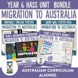 Australian Curriculum Year 6 HASS Unit - Migration to Australia
