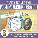 Year 6 Australian Curriculum History Unit - Australian Federation