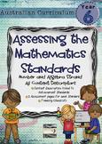 Year 6 Australian Curriculum Maths Assessment Number and A