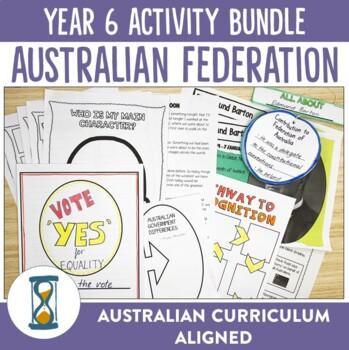 Year 6 Australian Federation Printable Activities