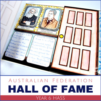 HASS Year 6 Australian History Hall of Fame - Famous Faces
