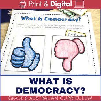 Australian Democracy - What is Democracy?