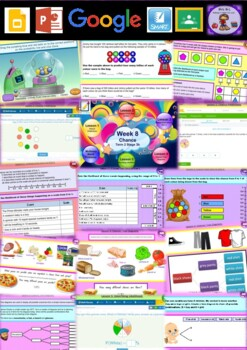 Year 6 Chance Smart Notebook and Unit of Work Bundle 1