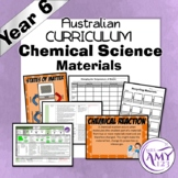 Year 6 Chemical Science- Living Things- Australian Curriculum