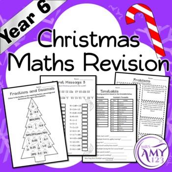 Year 6 Christmas Maths Revision - Australian Curriculum Aligned