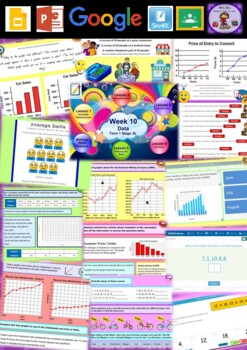 Year 6 Data Smart Notebook and Unit of Work Bundle 3