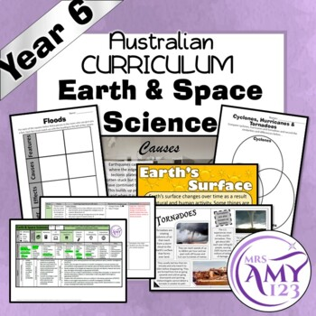 Year 6 Earth & Space Sciences Australian Curriculum