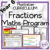 Year 6 Fractions Australian Curriculum Maths Program