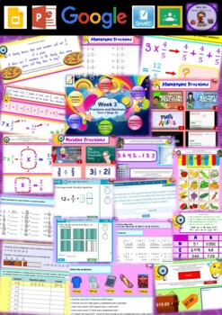 Year 6 Fractions and Decimals Smart Notebook and Unit of Work Bundle 3