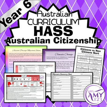 Year 6 HASS Australian Citizenship Unit - Australian Curriculum