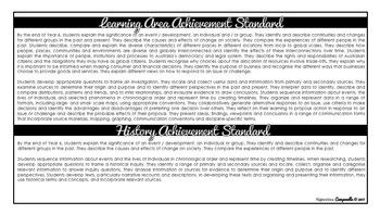 Year 6 HASS (Black & White) | Australian Curriculum Checklist