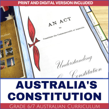 Australian Government - Australian Constitution and Separation of Powers
