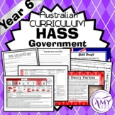 Year 6 HASS Government Unit - Australian Curriculum