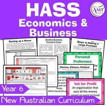 Year 6 HASS Business Unit - Economics /& Business Australian Curriculum
